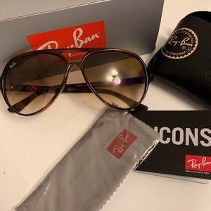 ray-ban rb4125 cats 5000 flash lenses sunglasses